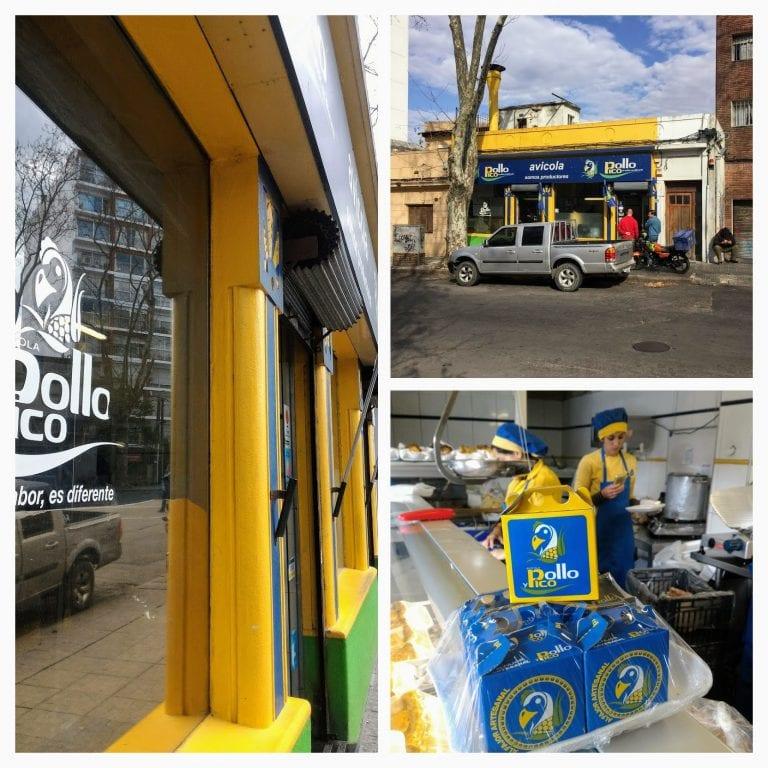 Alfajor Pollo y Pico - o melhor alfajor uruguaio
