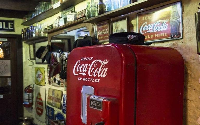 Primuseum: máquina de Coca-Cola
