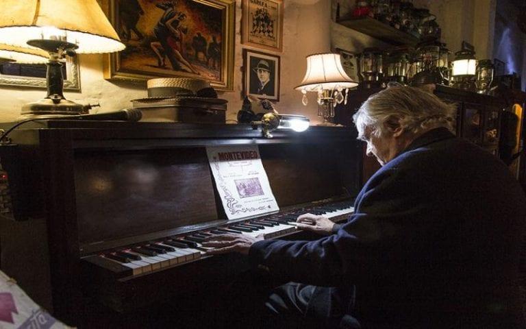 Primuseum: pianista - parte da orquestra de Tango