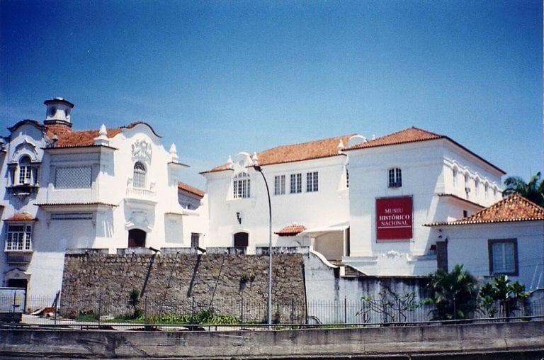 Museu Histórico Nacional: vista externa | Fonte: Wikipedia