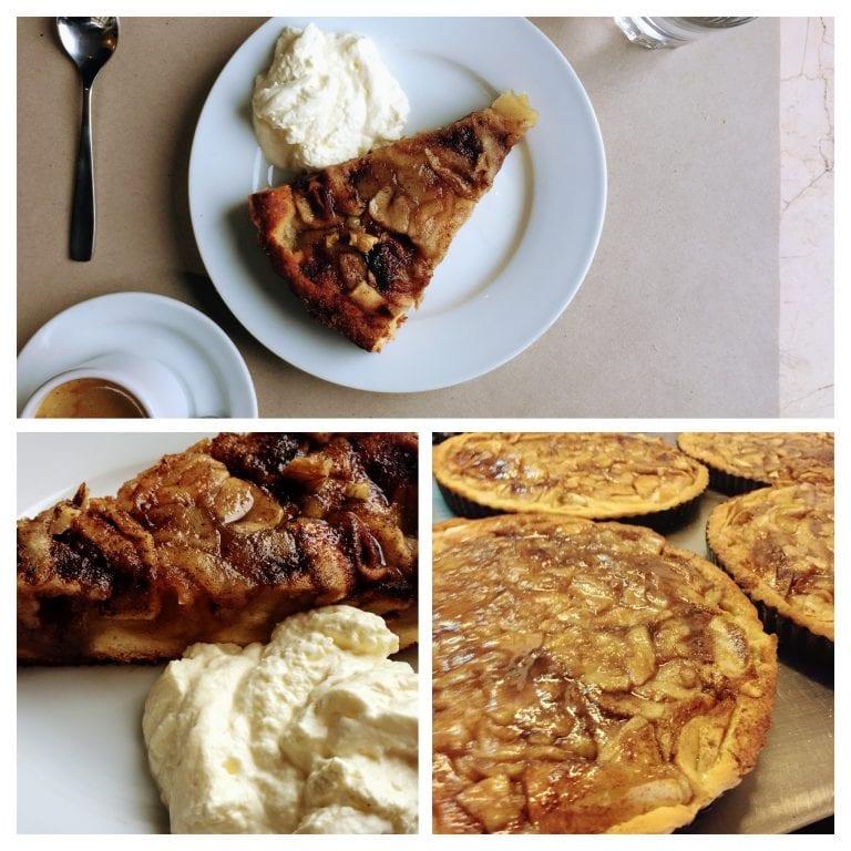 Café Bacacay: de sobremesa uma torta de maça deliciosa bem ao estilo alemão
