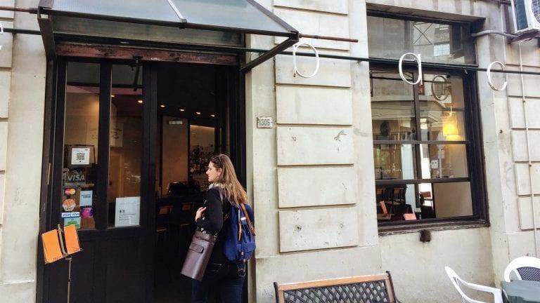 Café Bacacay: entrada
