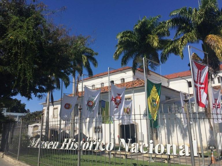 Museu Histórico Nacional: fachada