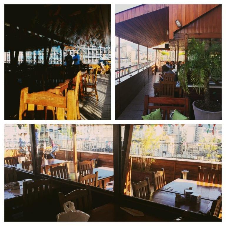 Terraço Restaurante: ambientes interno e externo
