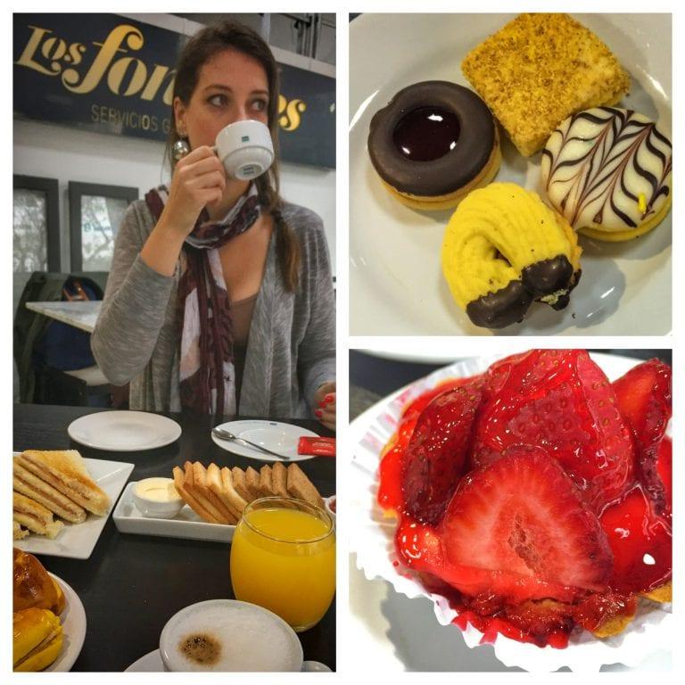 Los Fontanes: biscoitos e sobremesa