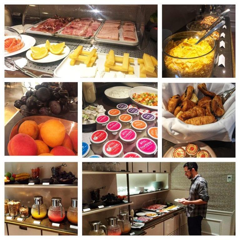 Le Narcisse Blanc: buffet de café da manhã super completo