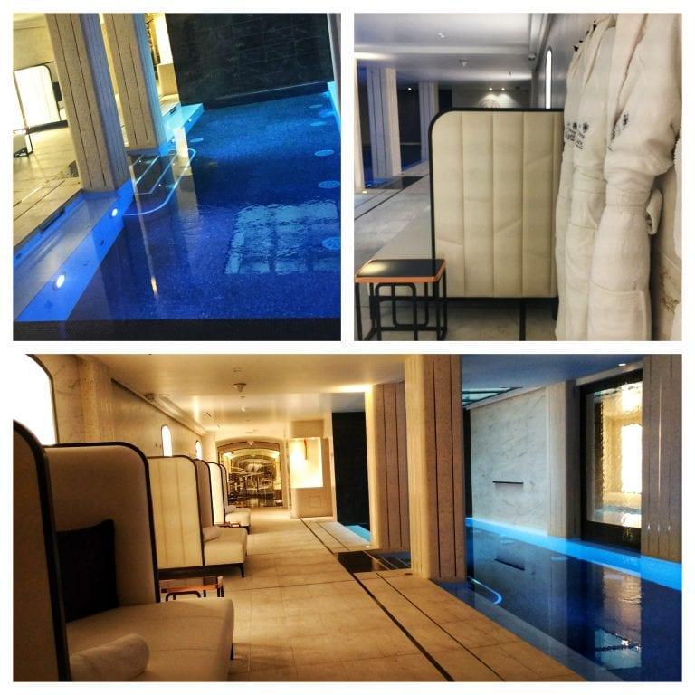 Le Narcisse Blanc: piscina e spa