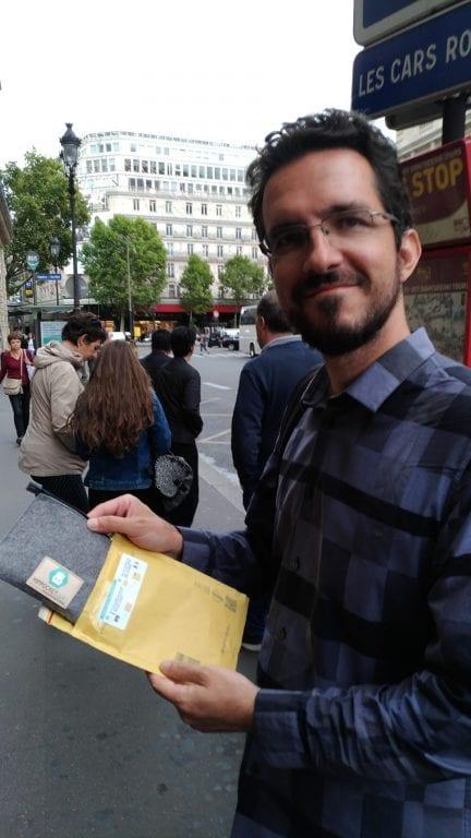 Devolvendo o modem da Hippocket Wifi: é só colocar no envelope