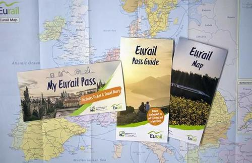 Kit do Eurail France Pass (fonte: eurail.com)