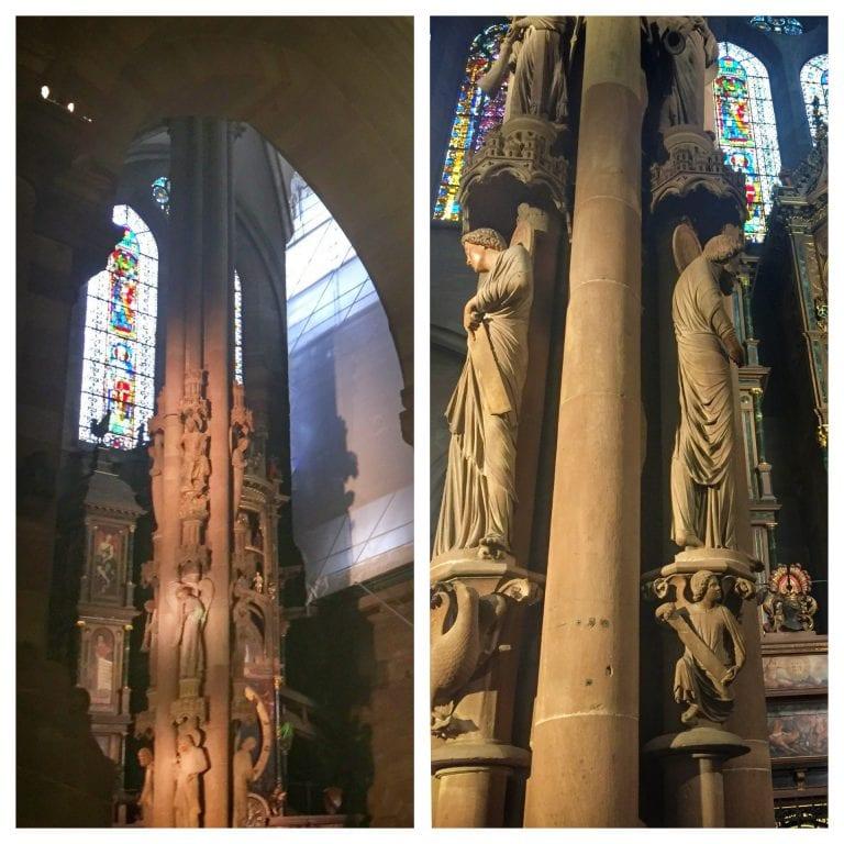 Catedral de Notre Dame de Strasbourg: Pilar dos Anjos