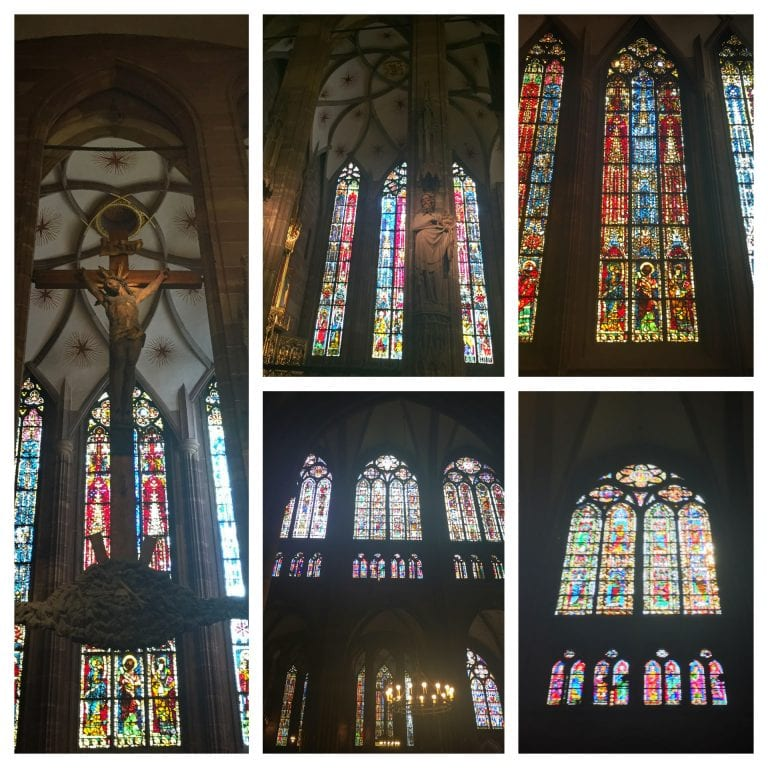 Catedral de Notre Dame de Strasbourg: vitrais