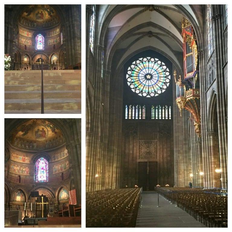 Catedral de Notre Dame de Strasbourg: internas