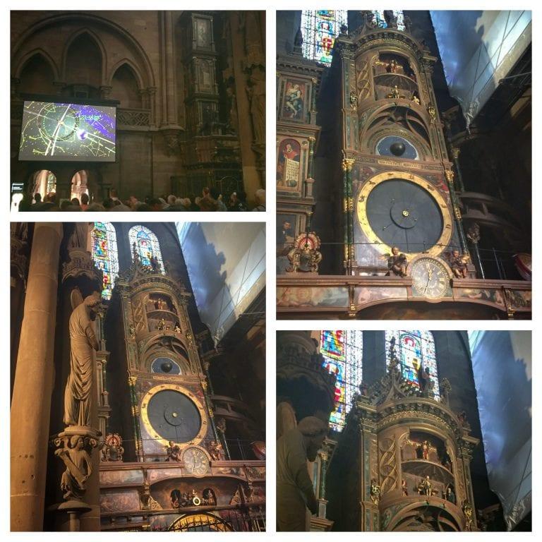 Catedral de Notre Dame de Strasbourg: relógio astronômico