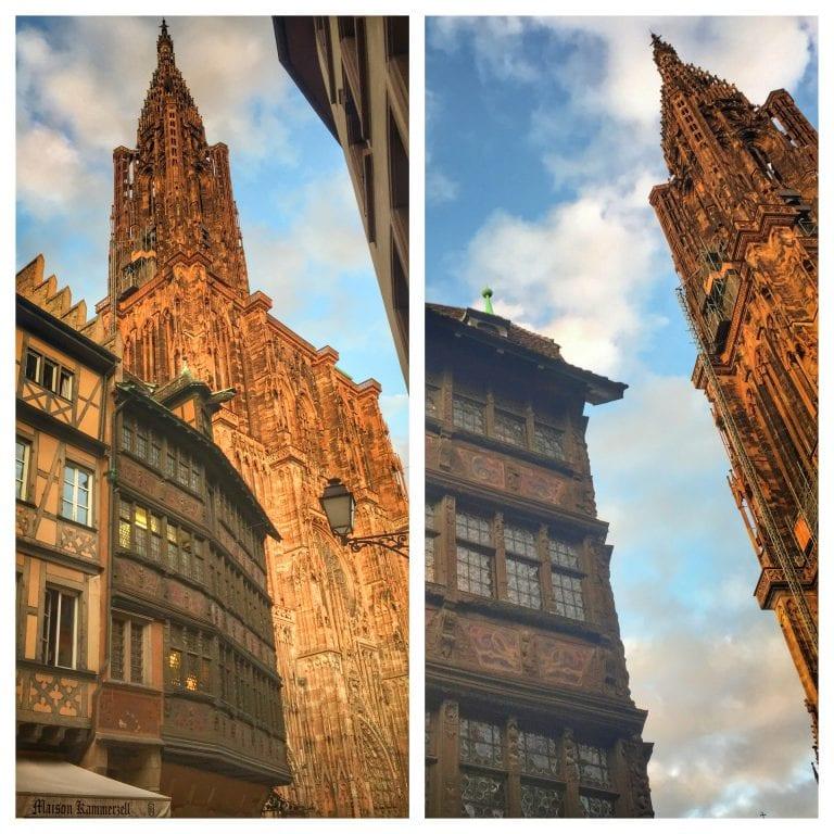 Maison Kammerzell: restaurante e a catedral
