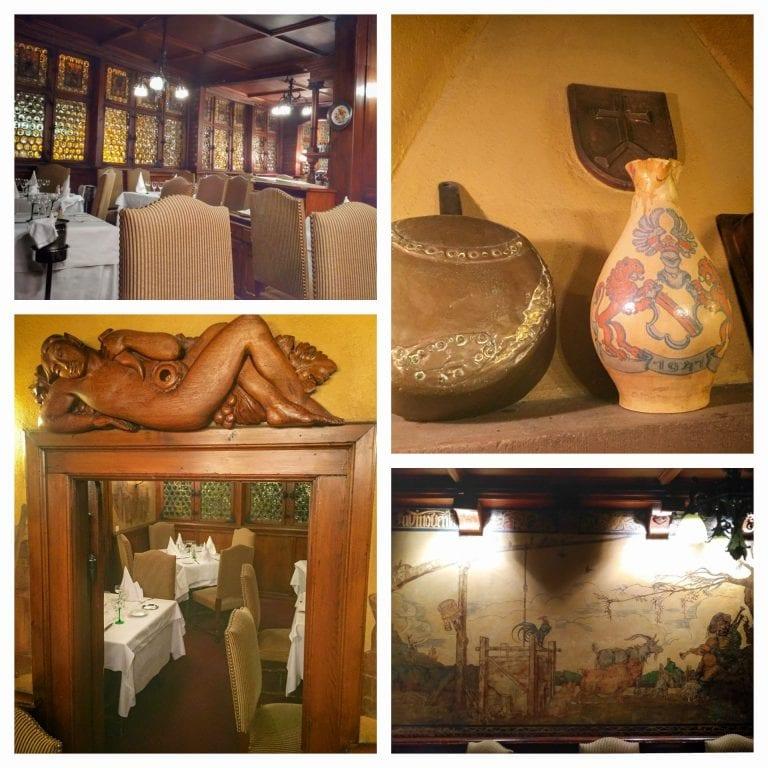 Maison Kammerzell: detalhes da decoração