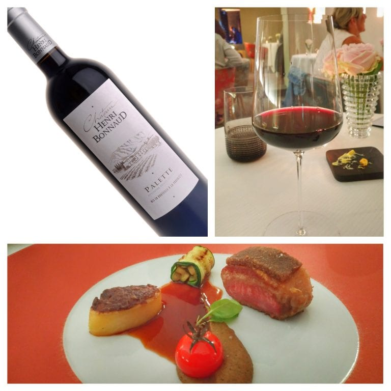 La Casserole: Le carré d'Agneau d'Álsace acompanhado de vinho Palette 2015 H Bonnaud