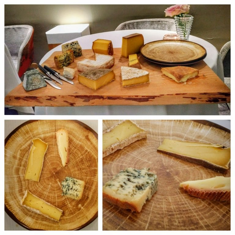 La Casserole: Le plateau de fromages affinés