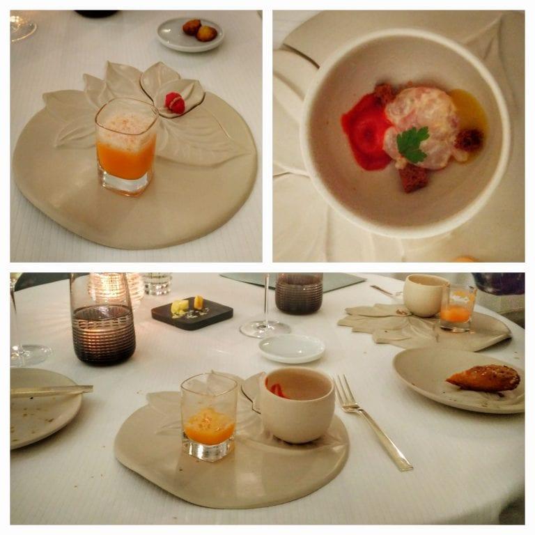 La Casserole: início do serviço de jantar