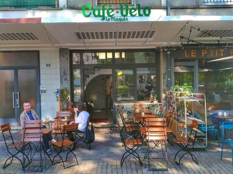 Bicicletas em Strasbourg: Le Marquis Café-Vélo