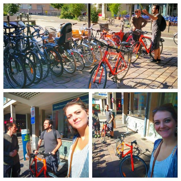 Bicicletas em Strasbourg: Alugando as bikes do Le Maquis Café-Vélo