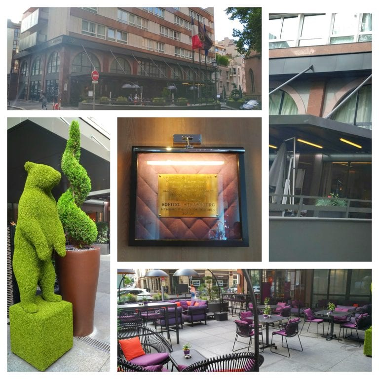 Sofitel Strasbourg Grande Ile: fachada e área externa do hotel