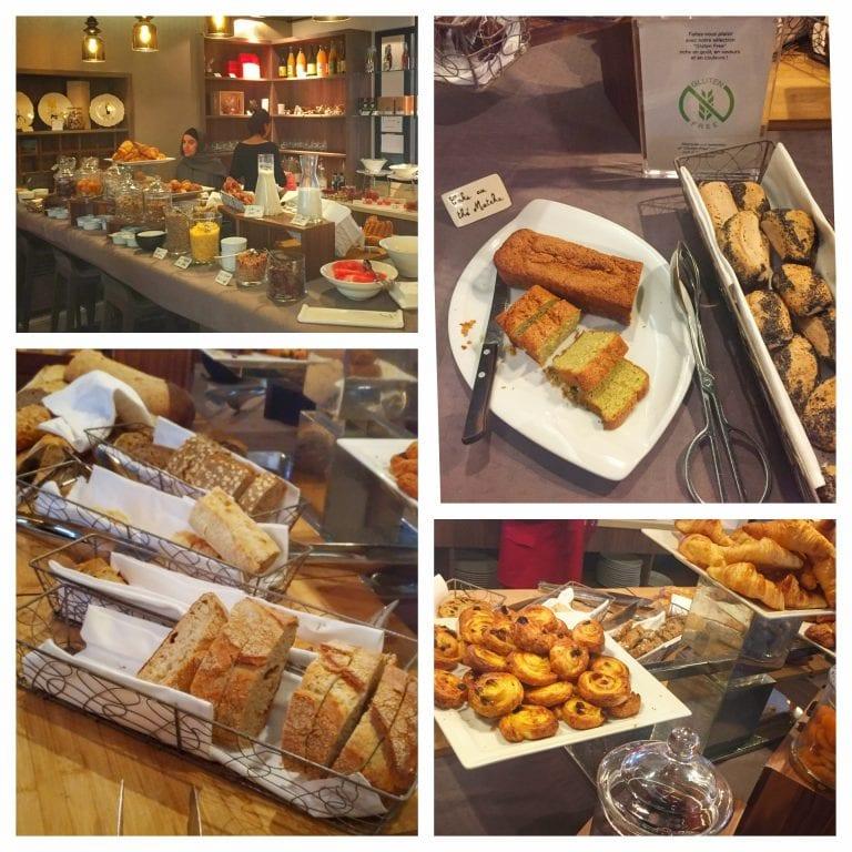Sofitel Strasbourg Grande Ile: café da manhã com pães, croissants, patisseries e bolos (inclusive sem gluten)