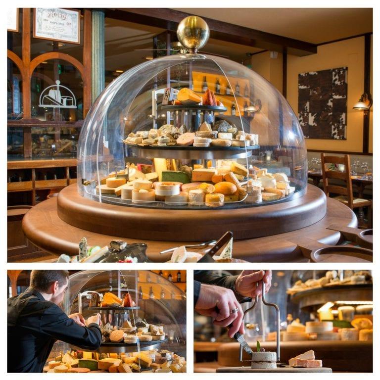 La Cloche à Fromage: a famosa redoma que dá nome ao restaurante | Imagens: site oficial do restaurante