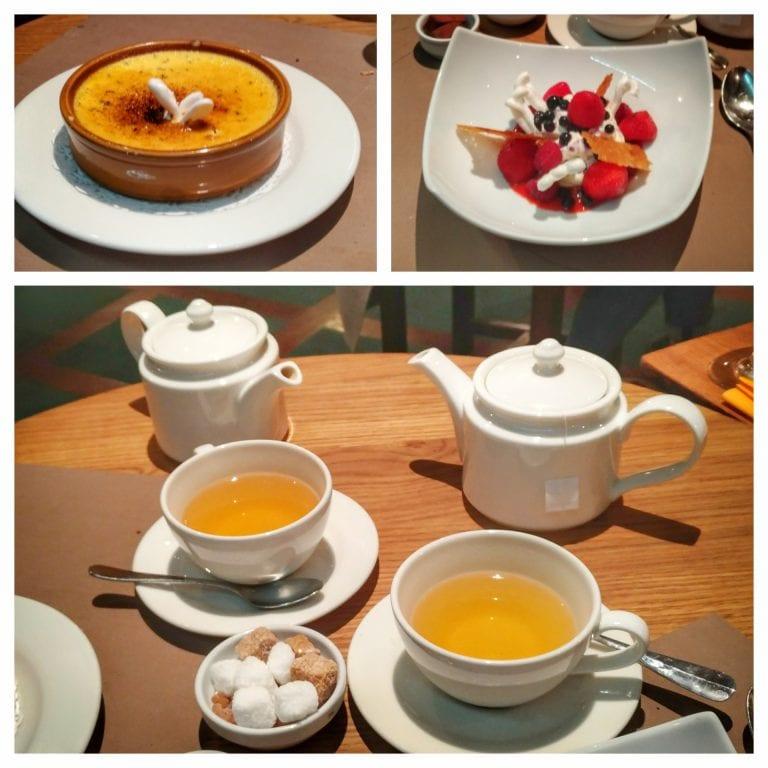 La Cloche à Fromage: sobremesas e chá