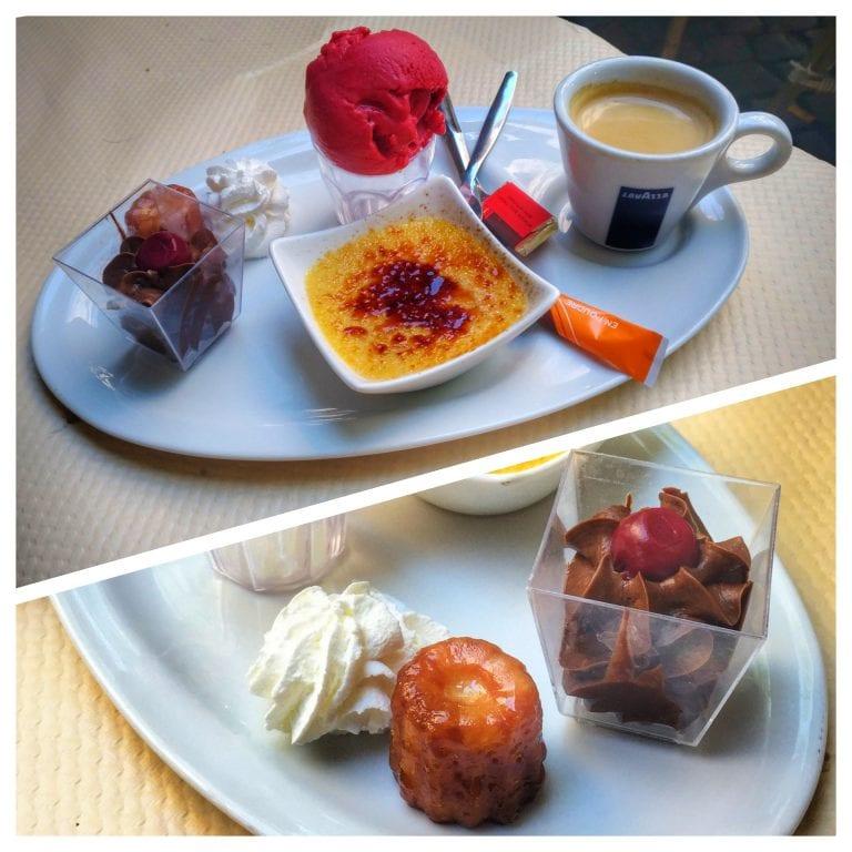 Le Gruber: sobremesa - Café Gourmand