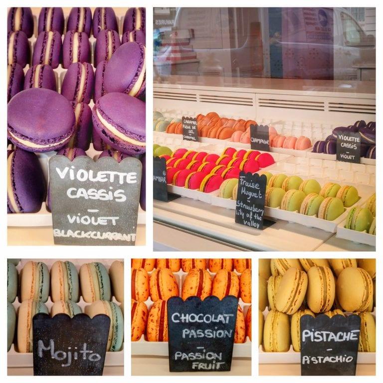 Macarons & Inspirations by Élisabeth Biscarrat: vários sabores de macarons