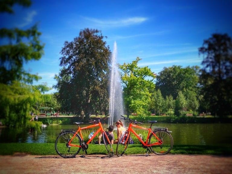 Bicicletas em Strasbourg