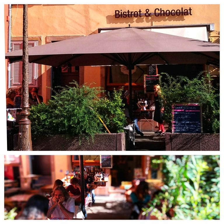Bistrot et Chocolat: fachada