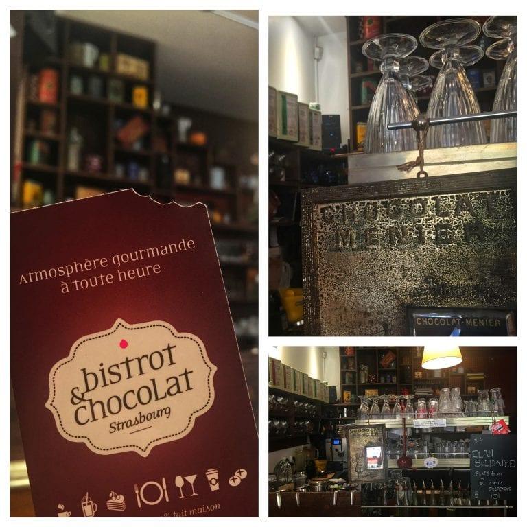 Bistrot et Chocolat: área de preparação do café
