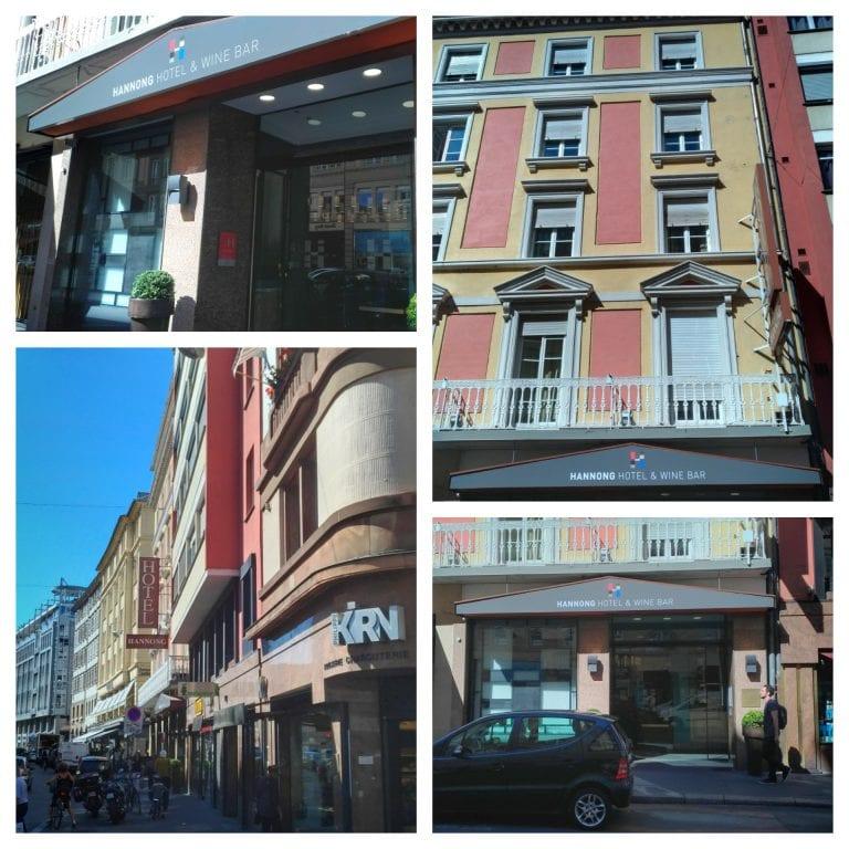 Hotel Hannong: fachada