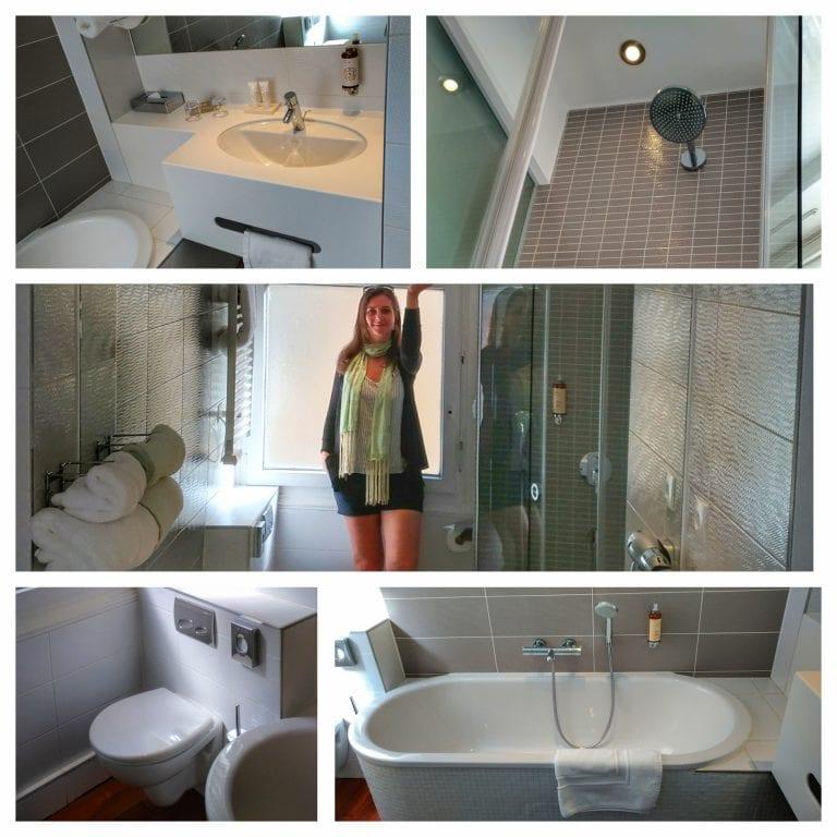 Hotel Hannong: banheiro super espaçoso e muito conforto