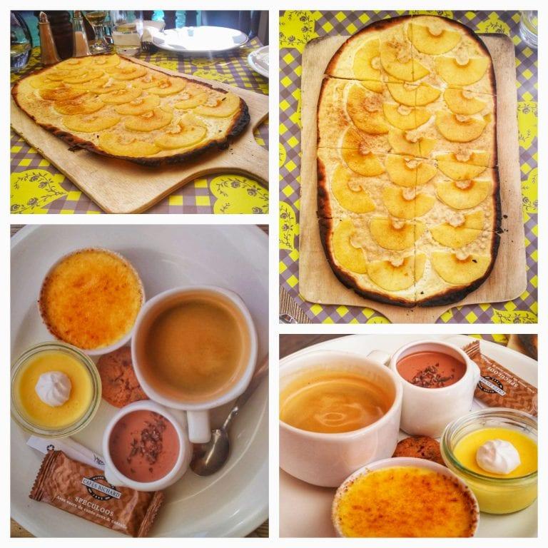 L'Ancienne Douane: tarte flambee e café gourmand