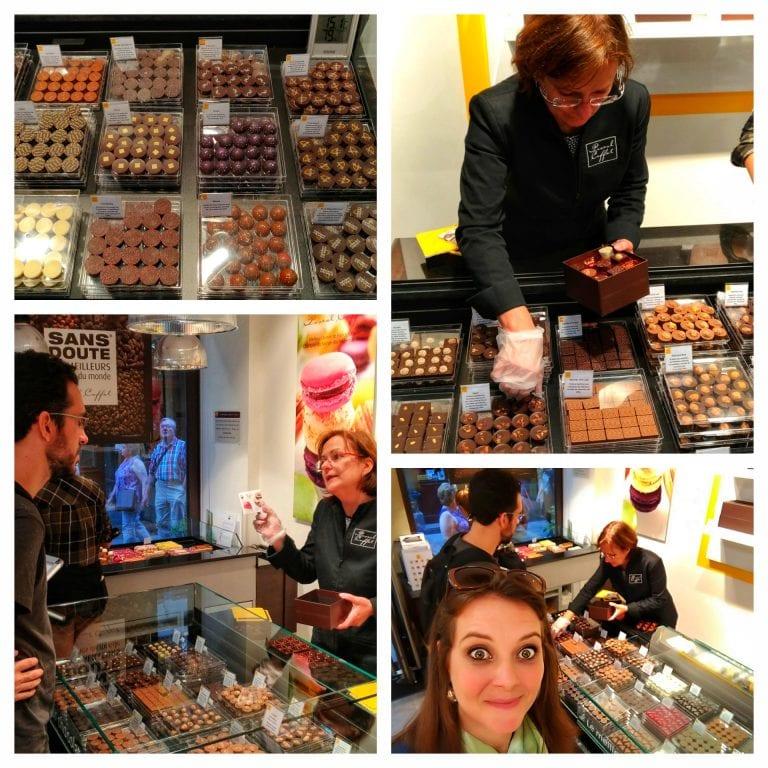 Maison Caffet Strasbourg Chocolatier Patisserie: pralinés