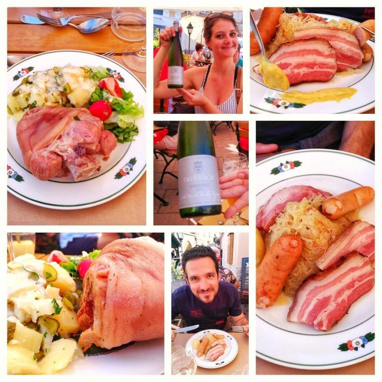 Wistub Brenner: pratos principais e vinho da Alsácia