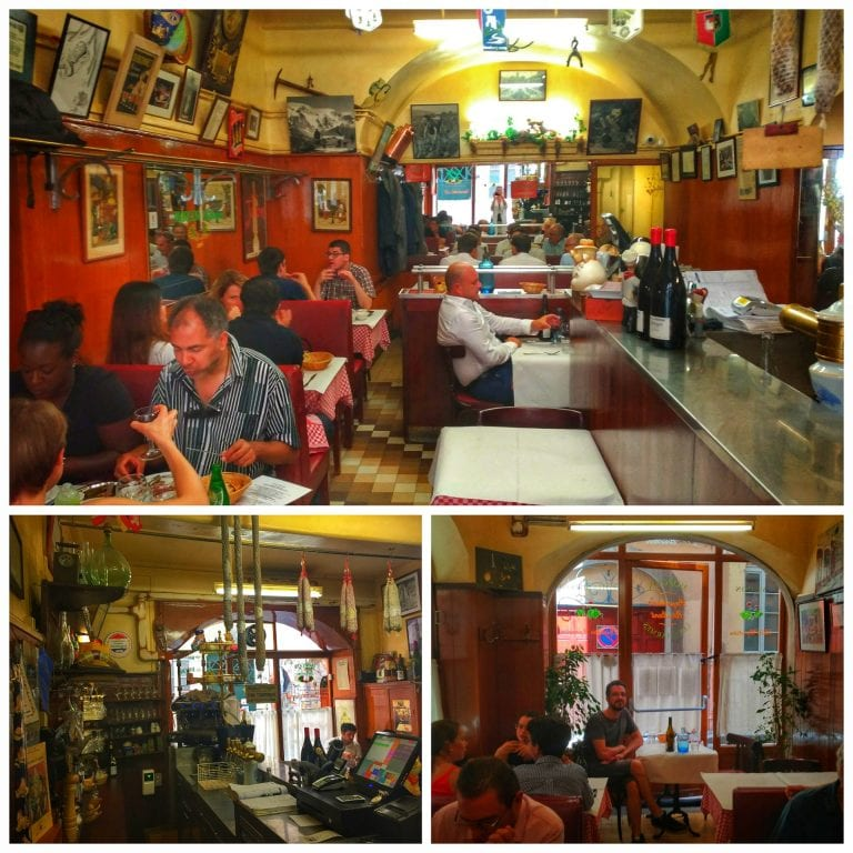 Cafe Des Federations Menu