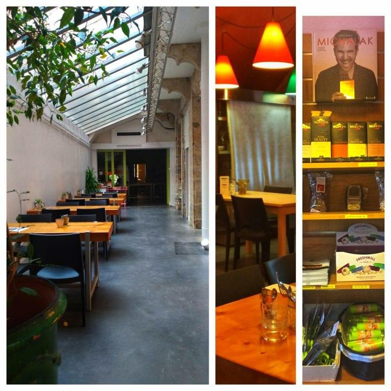 In Cuisine: ambiente amplo e área para realização de cursos de culinária