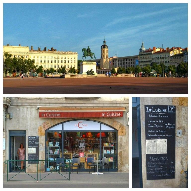 In Cuisine: localização excelente na Place Bellecour