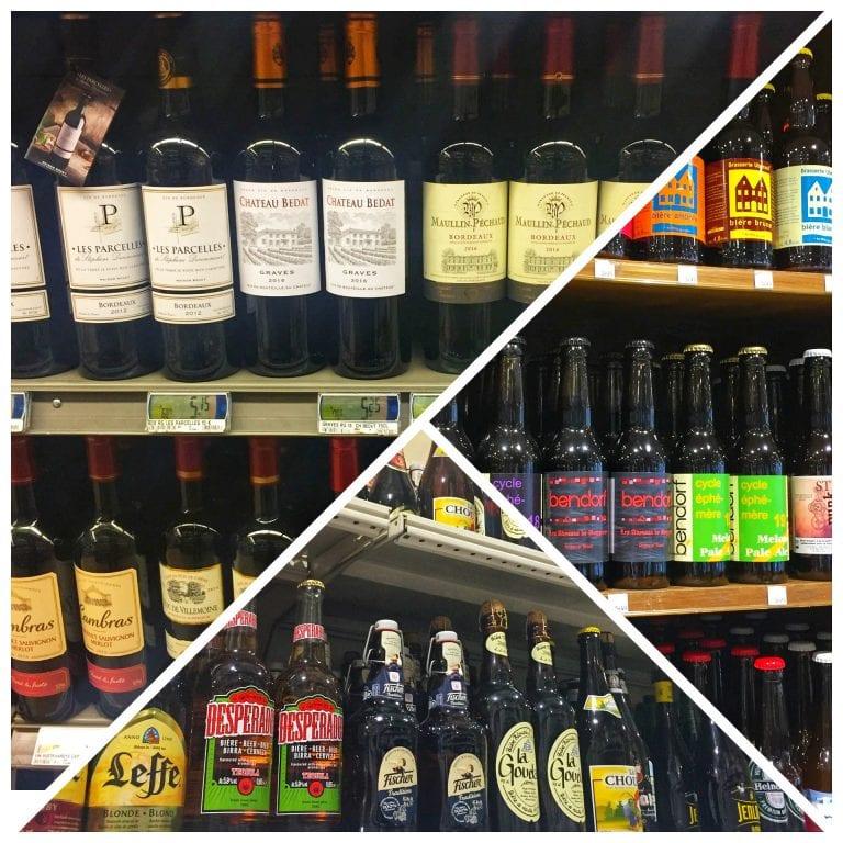 Vinhos (uma especialidade francesa), espumantes e cervejas artesanais e especiais são uma boa opção de compras nos supermercados em Paris