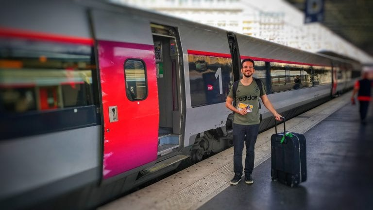 Viajar de trem na França