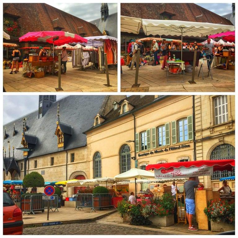 Place de la Halle de Beaune