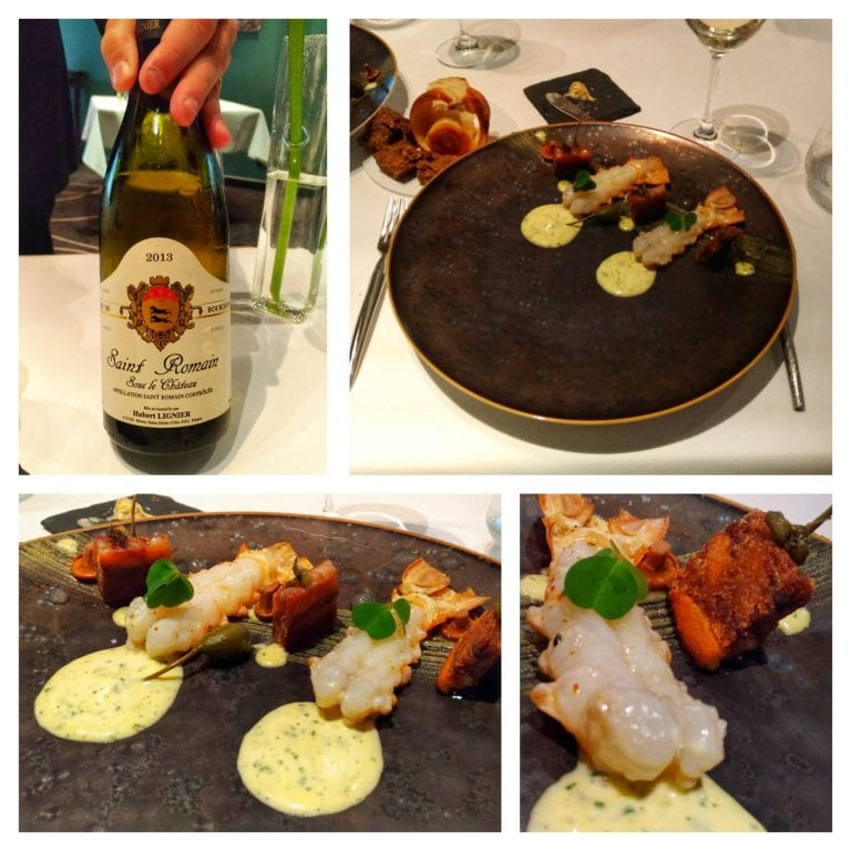 Restaurant William Frachot: entrada 2 + vinho