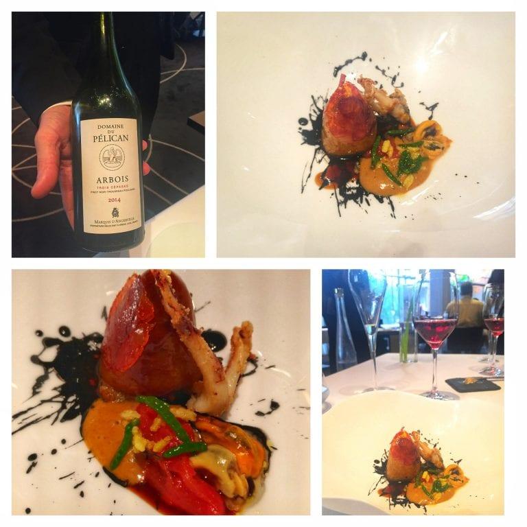 Restaurant William Frachot   Entrada + vinho: harmonização deliciosa