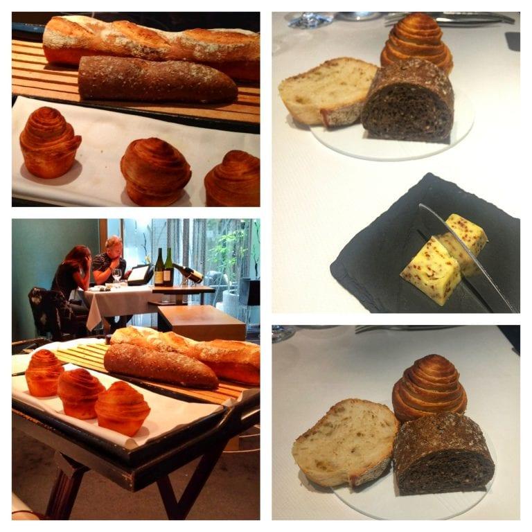 Restaurant William Frachot: pães variados à escolha e manteiga de ervas