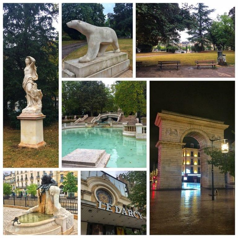 Dijon: Parque Darcy e passear novamente pelos arredores da praça