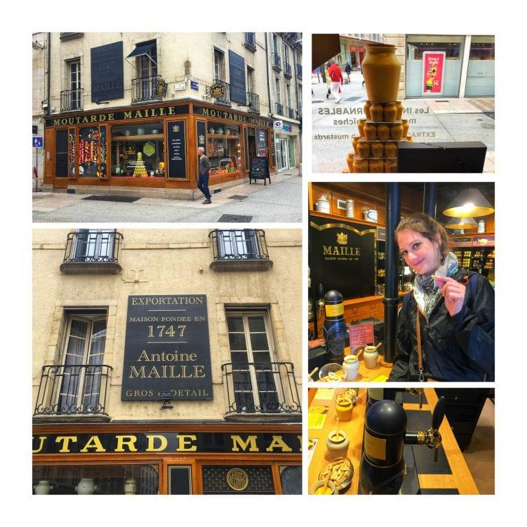 Dijon: uma das lojas da Moutarde Maille