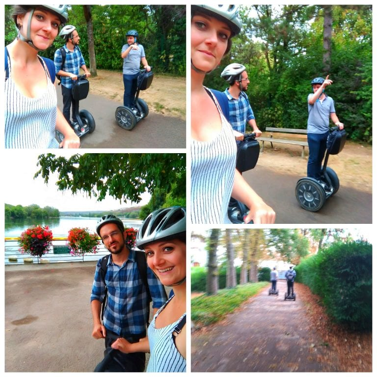 """Dijon: tour """"Balade en Segway"""" na opção Dijon """"Allées du Parc"""", onde fomos até parque onde fica localizado o Lago Kyr, um dos maiores da cidade"""